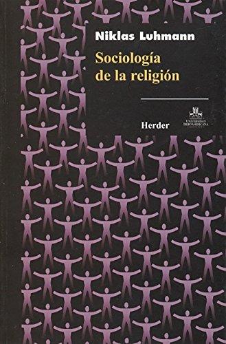 Sociología de la religión por Niklas Luhmann