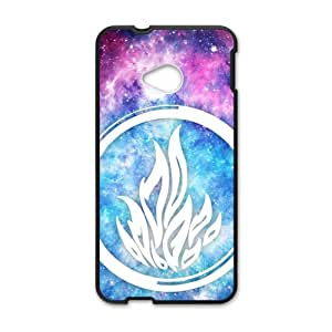 ORIGINE The Blue Fire Cell Phone Case for HTC One M7