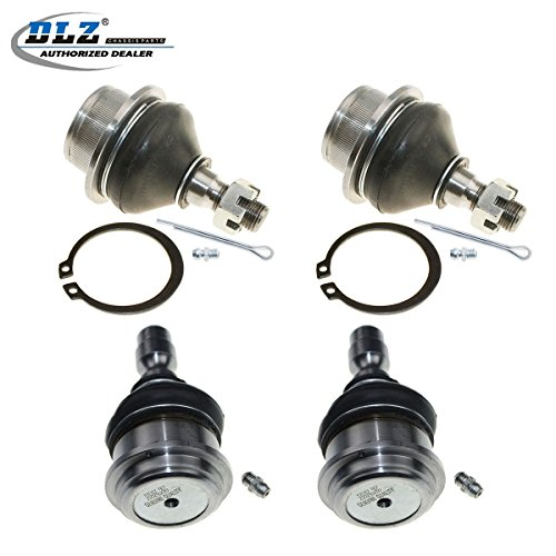 DLZ 4 Pcs Front Suspension Kit-2 Lower 2 Upper Ball Joints for 1998-2011 Ford Ranger (Coil Spring only) 2001-2009 Mazda B2300 1998-2001 Mazda B2500 1998-2007 Mazda B3000 1998-2003 Mazda B4000 - Ford Ranger Coil Springs