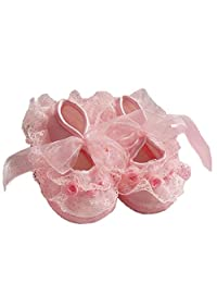 Cute Non-Slip Newborn Shoes Baby Girl Toddler Cloth Shoes With Beautiful Lace