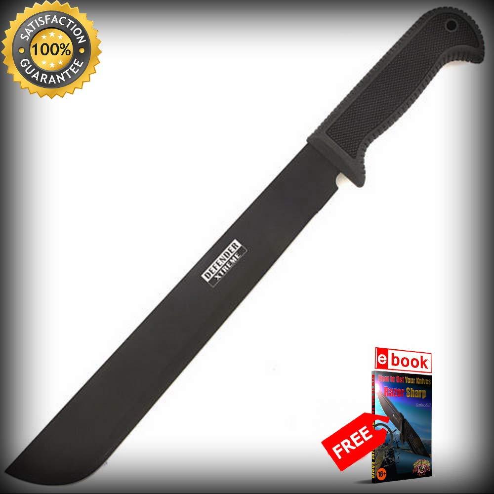 18 TACTICAL SURVIVAL MACHETE Sword Combat Ninja Hunting ...