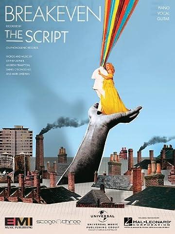 The Script - Breakeven (The Script Sheet Music)
