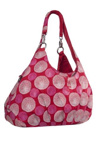 Lassig Gold Label Diaper Shoulder Bag Red