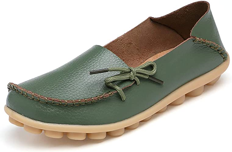 Youecci Women's Leather Moccasins