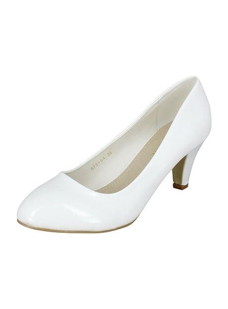 MujerBoda Zapatos Ceremonia O Tacón De BajoBlancoPara eQBWdxorC