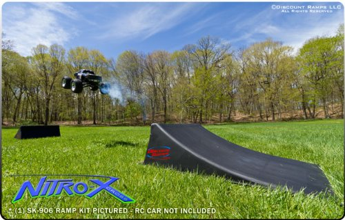 Discount Ramps SK-904-R Black 12'' High Skateboard Launch Ramp by Discount Ramps (Image #8)