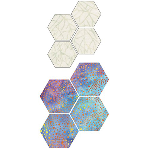 Go! Fabric Cutting Dies-Paper Piecing Hexagon 1 Sides - Die Cuts Piecing