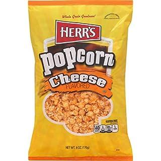 Herr's Herrs Cheese Popcorn, Cheese, 6.0 Ounce