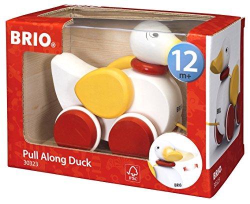 BRIO Pull-along Duck - White by Brio (Brio Duck)
