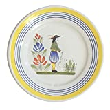 Quimper Henriot 11'' Dinner Plate Man