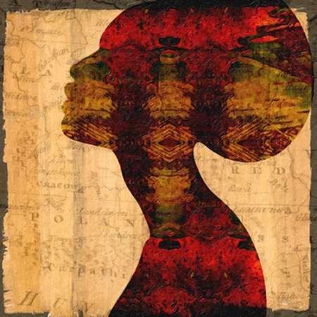 Feelingathome-fine-art-print-Nubian-Queen-II-cm73x73-poster