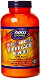 NOW Foods Branch Chain Amino Powder, 3Pack (12 Ounces Each )