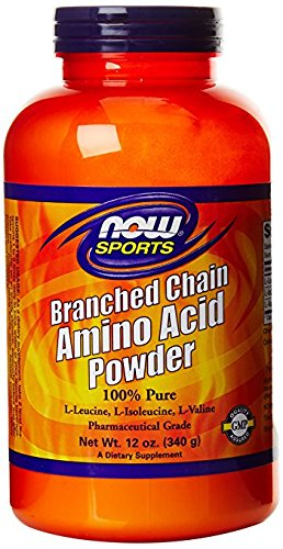 NOW Foods Branch Chain Amino Powder, 3Pack (12 Ounces Each ) by NOW Foods