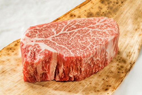 100% Japanese Wagyu Beef, A-5 Grade, Filet Mignon Two 6oz Steaks by Japanese Wagyu Beef (Image #2)