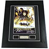 Lord of the Rings Signed + Lord of the Rings Fellowship of the Ring Film Cell Framed