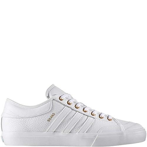 55c65b2be69 adidas Matchcourt Skate Shoes - White Gold Metallic Ice Blue - Mens - 9.5