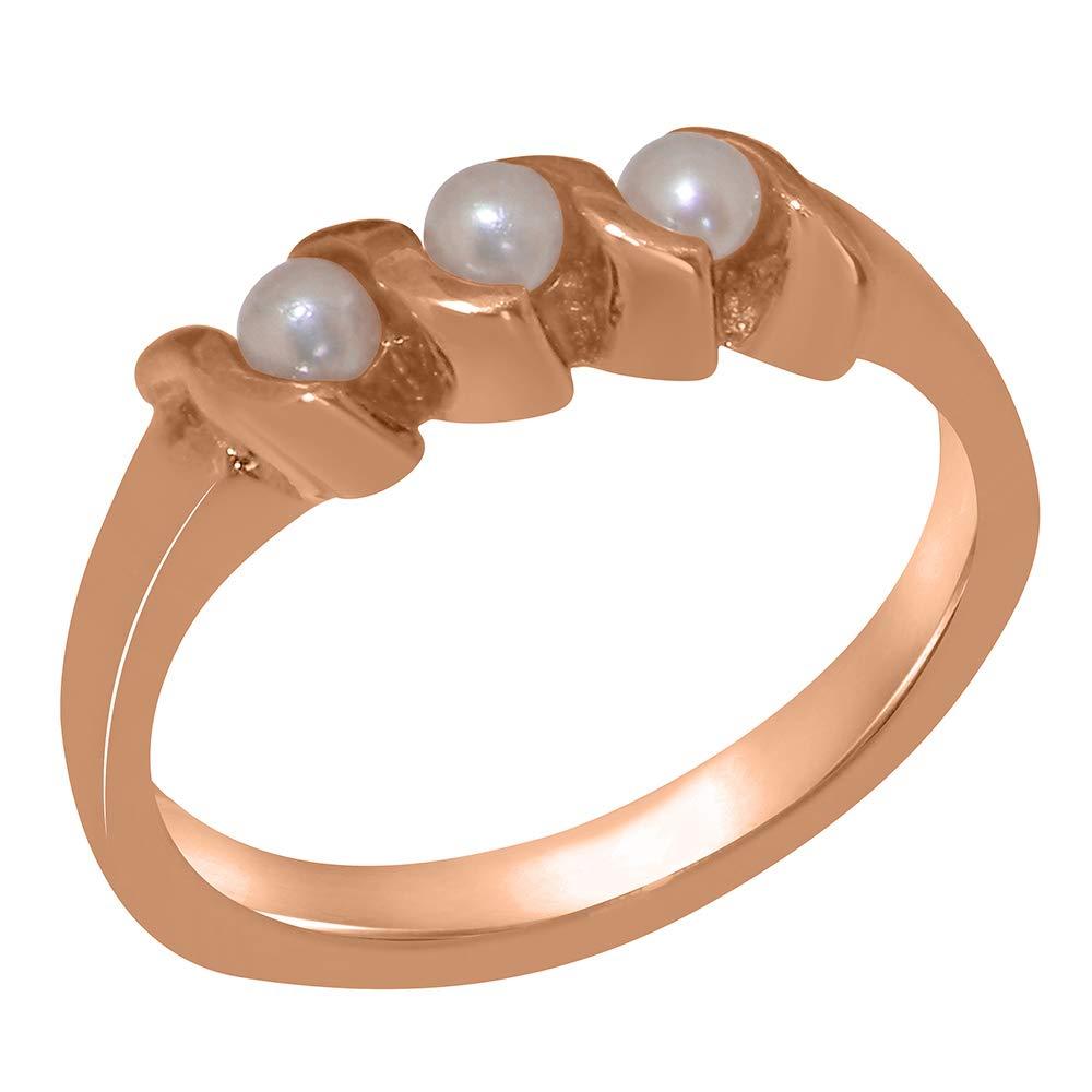 英国製(イギリス製) K18 ピンクゴールドパール レディース リング 指輪 各種 サイズ あり   B07T3F5X23