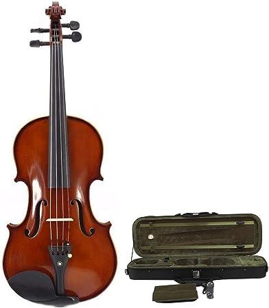 Violino Violino acustico rifinito a mano lucido lucido con