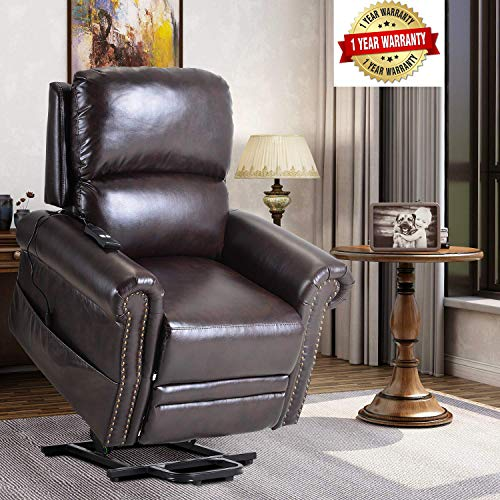 Lift Chairs for Elderly – Lift Chairs Recliners Sofa Reclining Chair Sofa Electric Recliner Chairs with Remote Control Soft PU Lounge