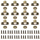 Sumnacon Magnetic Catches Latch for Cabinet, Doors, Cupboards, Drawers, Closet and Furniture, Set of 12 Come With Screws