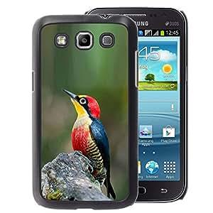 A-type Arte & diseño plástico duro Fundas Cover Cubre Hard Case Cover para Samsung Galaxy Win I8550 (Green Nature Spring Tropical Songbird)