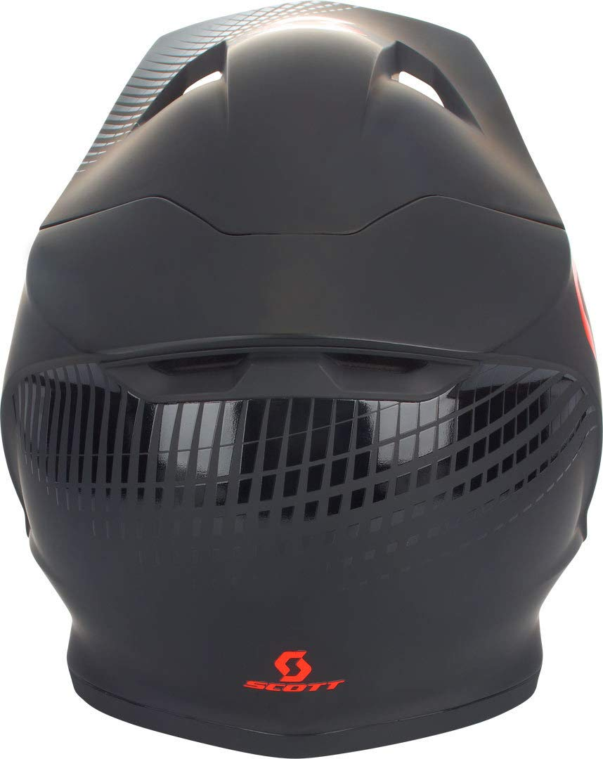 Scott HELMET 550 HATCH ECE BLACK//ORANGE M