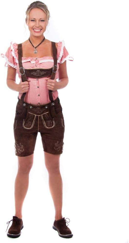 Edelnice Kurze Damen Trachten Lederhose Alle Gr/ö/ßen