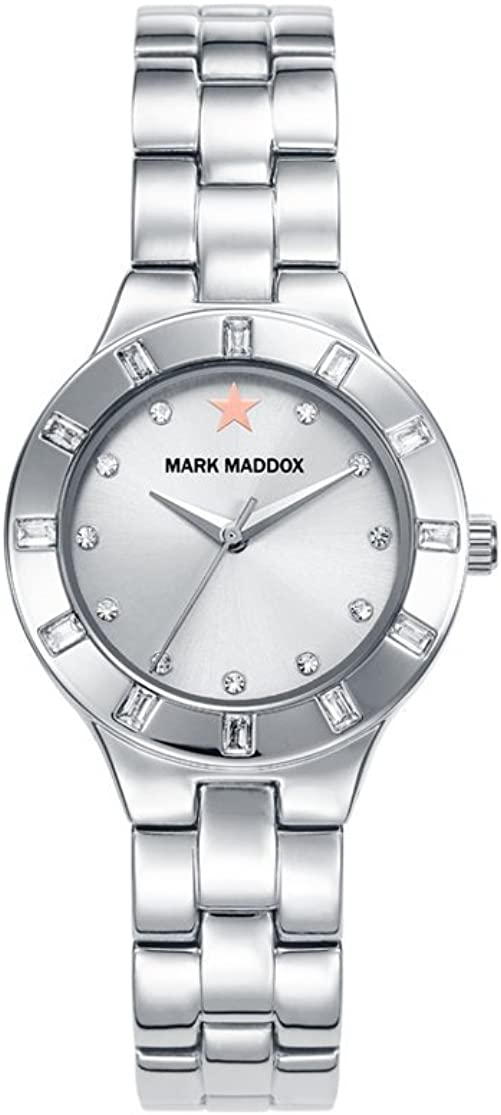 Mark Maddox MM7010-17 - Reloj, color plateado