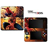 Spiderman Decorative Video Game Decal Cover Skin Protector for New Nintendo 3DS (2015 Edition)