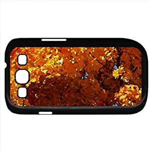 Autumn 2012 - Watercolor style - Case Cover For Samsung Galaxy S3 i9300 (Black)