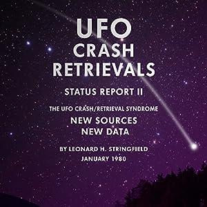 UFO Crash Retrievals - Status Report II Audiobook