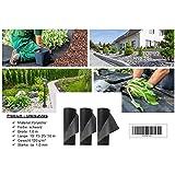 120 g/m² - Reißfestes Gartenvlies, Unkrautvlies bzw. Unkrautschutzvlies mit hoher Wasserdurchlässigkeit (50 m x 1 m, schwarz)