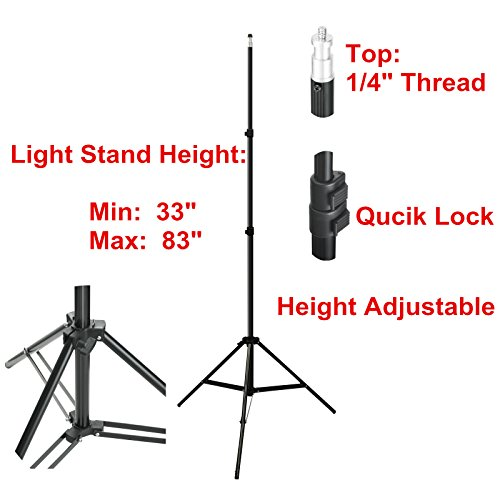 Emart 750w Professional Photographic Studio Strobe Flash Light Kit - Barn Door, Soft Boxes, Umbrellas, Stands, Lamps, Trigger & More