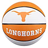 NCAA Texas Longhorns Collegiate Deluxe Official Size Rubber Basketball