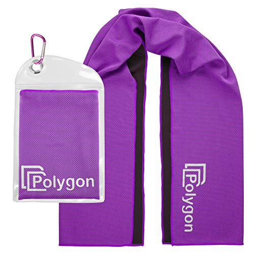 Polygon Cooling Towel Microfiber