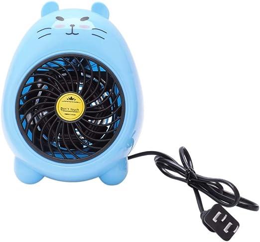 Breeze DMM Mini Ventilador Azul Mini Pequeños Calentadores ...