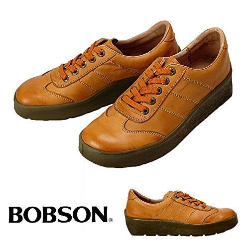 BOBSON ボブソン本革ウォーキングシューズ B4401 メンズシューズCAMEL26.5cm B018PYB9Q6