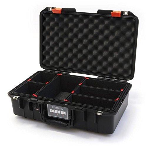 Black & Orange Pelican 1485 Air case with Trekpak dividers.