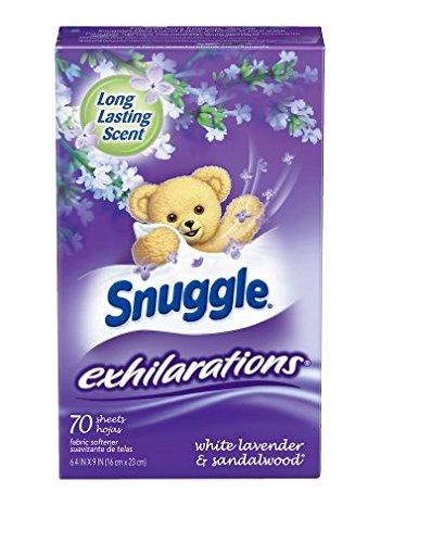 新鮮。Snuggle Exhilarations柔軟剤シートホワイトラベンダー& sandalwood70.0 SH (1pk)   B07D8YJRCC