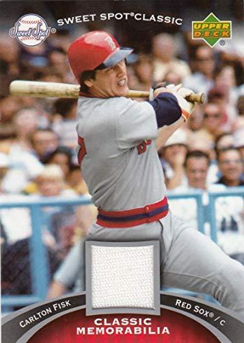 2007 Sweet Spot Classic Classic Memorabilia #CF1 Carlton Fisk NM-MT+ MEM Boston Red Sox from Sweet Spot Classic