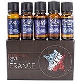 Mystic Moments Huiles essentielles de France pack cadeau de démarrage 5x10ml
