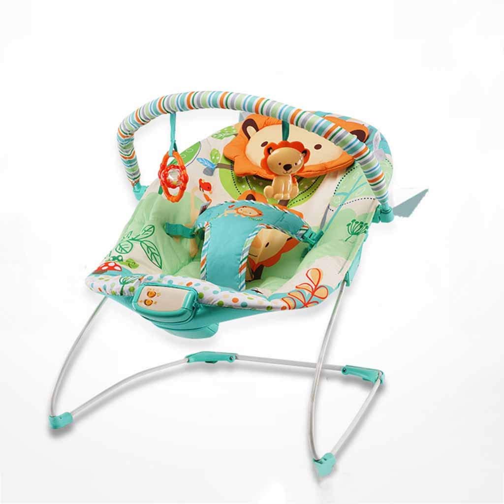 LJQ Multi-Functional Baby Cradle, 0-18 Month Baby Shaker, accompanied by Music, Suitable for Gift Giving by LJQ
