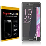 [8-Pack] For Sony Xperia X - SuperGuardZ Screen Protector, Ultra Clear, Anti-Scratch, Anti-Bubble,