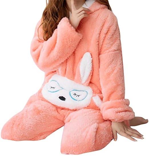 warm suit warm pajama cozy pajama winter suit fleece pajama plush pajama fleece suit for women hooded suit Plush suit for women