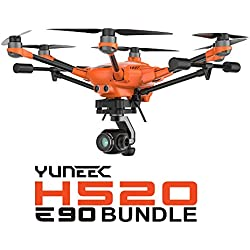 Yuneec H520 Bundle - E90 Camera, Battery, Lumecube, Hoodman Sunshade, Pelican Case