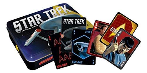 Aquarius Star Trek Playing Card Gift Tin ()