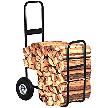 Amazon Com Firewood Hand Truck Caddy With Cover
