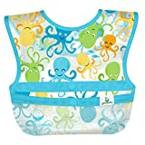 Green Sprouts 3 Piece Snap & Go Wipe-Off Bibs
