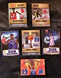 ZION WILLIAMSON Rookie Lot 6 different cards New Orleans Pelicans