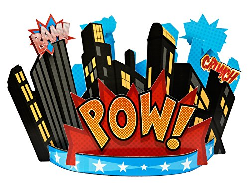 BirthdayExpress Superhero Comics Party Supplies - -
